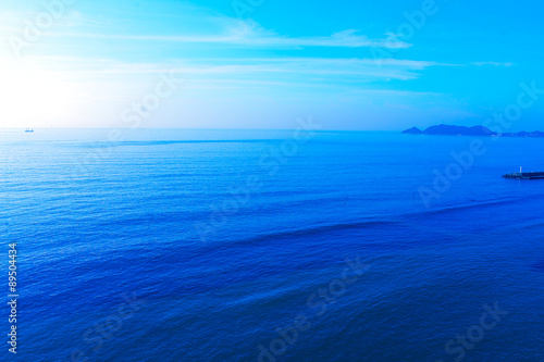 Staande foto Zee / Oceaan Beautiful pictures of the Japanese sea.