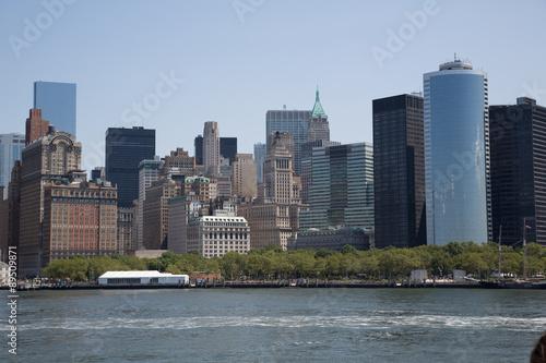 Foto op Aluminium New York PAESAGGIO DI NEW YORK
