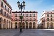 Huesca. Plaza Luís López Allue.