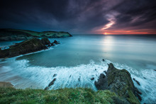 Hope Cove Sunset 3