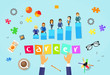 Business People Career Concept Cartoon Businesspeople
