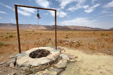 Water Well In Sahara Desert, M...
