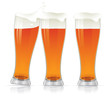 Beer glasses.