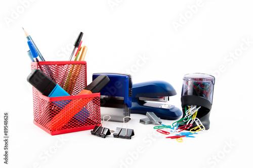Obraz na plátně  Office equipments
