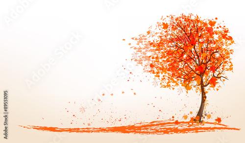jesieni-tlo-z-drzewem-i-zlotem