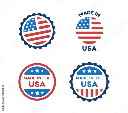 Photographie Made in USA labels