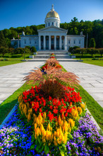 Vermont State Capital Building In Montpelier, VT.