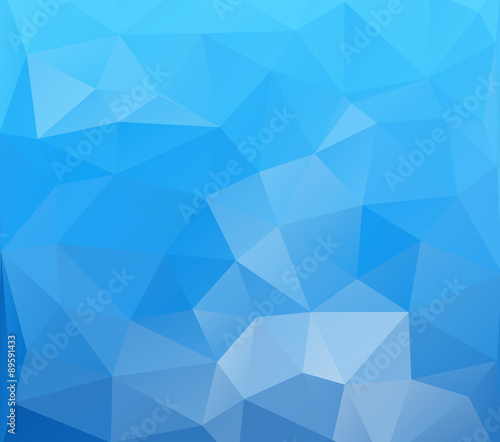 Fototapety, obrazy: polygonal mosaic abstract background, Business design templates
