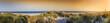 Leinwandbild Motiv Helgoland BAdeinsel Panorama