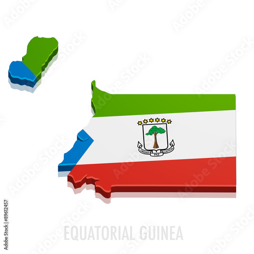 Fotografía  Map Equatorial Guinea