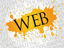 WEB Word Cloud Concept