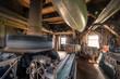 inside a dutch windmill