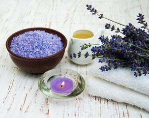 Obraz na płótnie Canvas Lavender spa