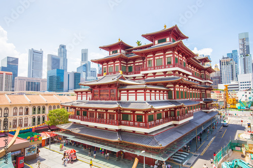 Acrylic Prints Singapore The Buddha Tooth Relic Temple in Singapore