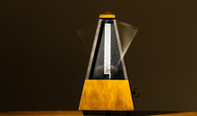 Wooden Mechanical Metronome Wi...