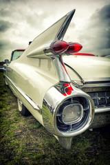 Fototapeta Vintage Old american car in vintage style
