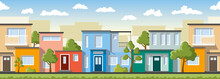 Modern Colorful Houses, Also U...