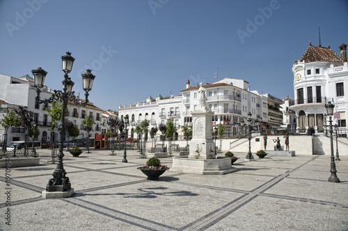 plaza principal del municipio de Aracena, Huelva