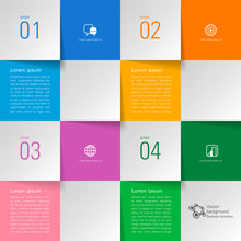 Vector Background #Grid Layout Material