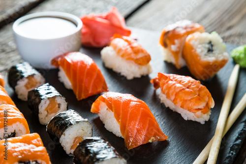 Fotografia, Obraz  sushi