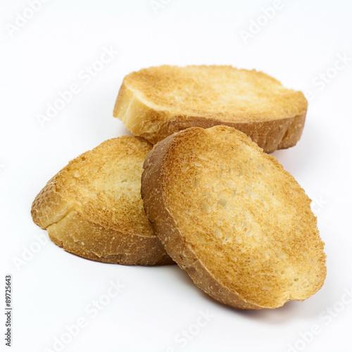 Garden Poster Cookies Crispy toasts on white