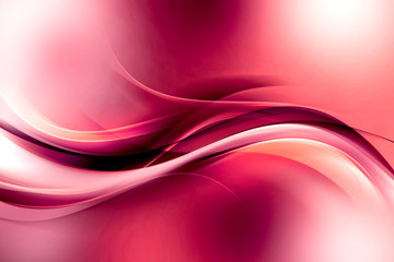 Abstract Waves Art Background