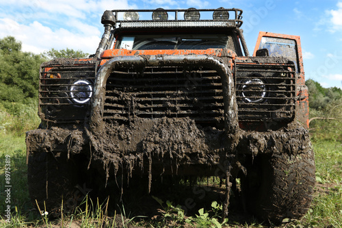 Photo  A real off-road vehicle