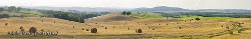 fototapeta na lodówkę panorama landscape in Tuscany in Italy