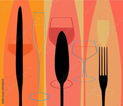 menu-ze-sztuccami-i-szklankami