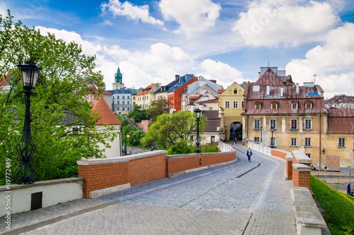 Obraz Old town in City of Lublin, Poland - fototapety do salonu