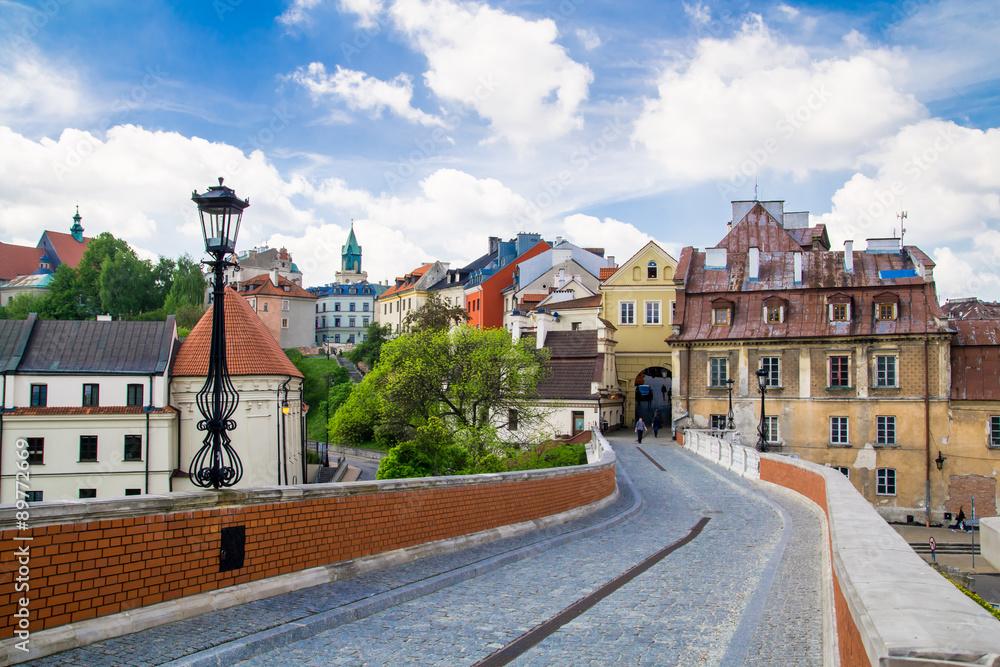 Fototapety, obrazy: Stare miasto w mieście Lublin, Polska