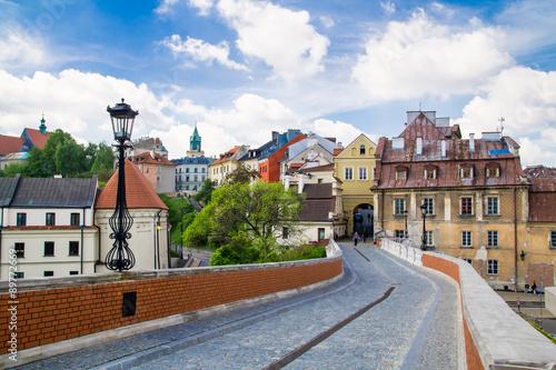 Obraz Stare miasto w mieście Lublin, Polska - fototapety do salonu