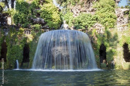 Poster de jardin Fontaine Fontana di Villa D'Este