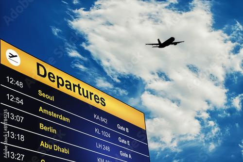 Foto departure