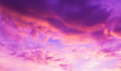 canvas print picture - image of sky on evening time with purple tone