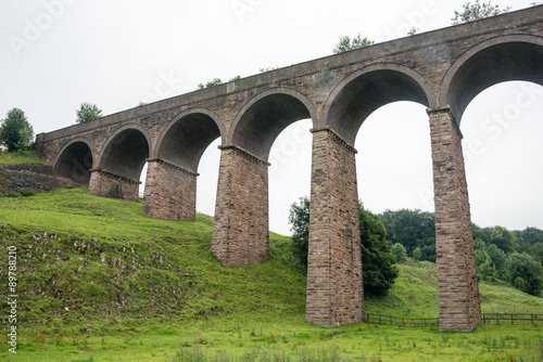 Canvas Print Viaduct in Buxton, Derbyshire