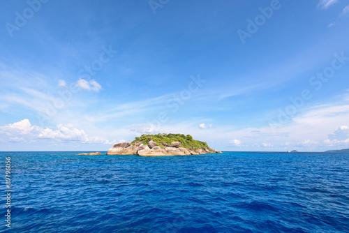 Spoed Foto op Canvas Eiland Ko Ha is a small island in Mu Ko Similan, Thailand