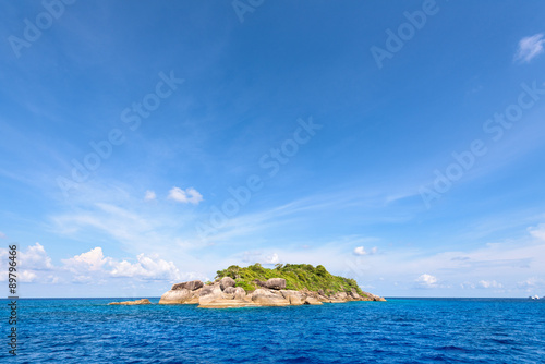Foto op Plexiglas Eiland Ko Ha is a small island in Mu Ko Similan, Thailand