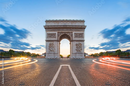 Photo Arc de Triomphe in Paris, France