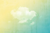 cloud background with gradient colour and grunge texture.