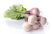 Bunch Of Fresh Turnips