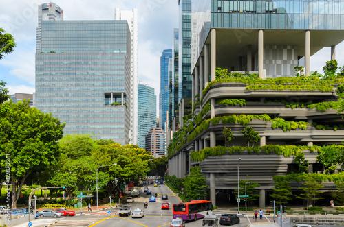 Spoed Foto op Canvas Singapore Singapore
