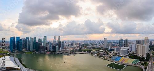 Photo  Singapore downtown