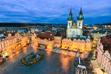 Old Town Square In Prague, Cze...