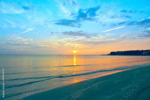 黄昏の日本海
