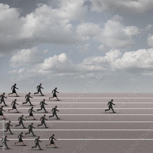 Fotografia  Winning The Race