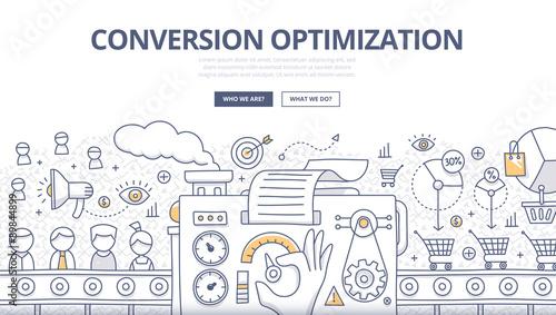 Canvastavla Conversion Optimization Doodle Concept