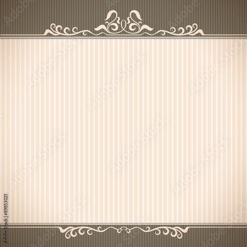 Banner Border Frame Greeting Card Wedding Card
