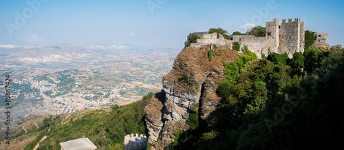 Fotografie, Obraz  Castello di Venere in Erice. Sicily, Italy.