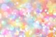 canvas print picture - Hintergrund bokeh bunt